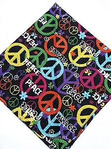 Bandana Peace Paz e Amor