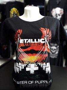 Baby Look Metallica Master of Puppets