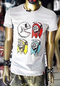 Camisa PacMan Skull Tam PP