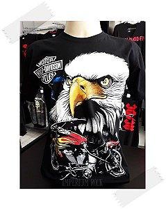 Camisa Harley Davidson ÁGUIA Colorida