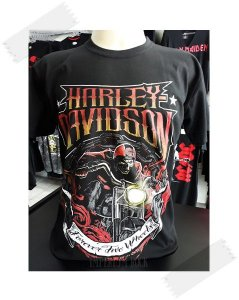 Camisa Harley Davidson - Forever Two Wheels