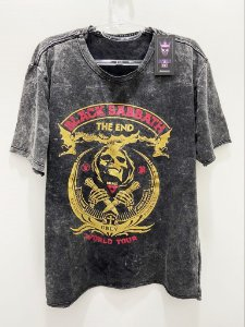 Camisa Estonada Black Sabbath War Pigs