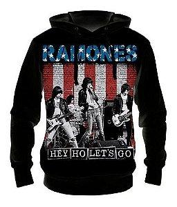 Moletom Ramones Capuz