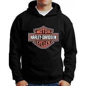 Moletom Harley Davidson Capuz