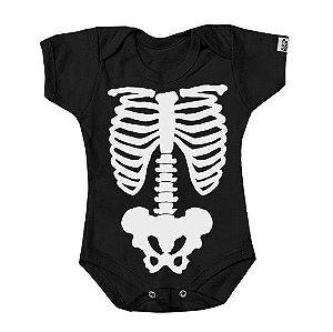 Body Bebe Esqueleto Ossos