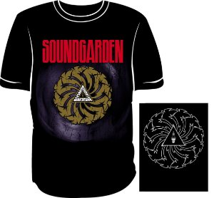 Camisa Soundgarden Badmotorfinger