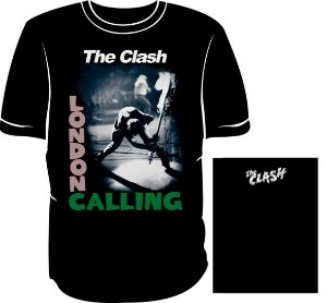 Camisa The Clash London Calling