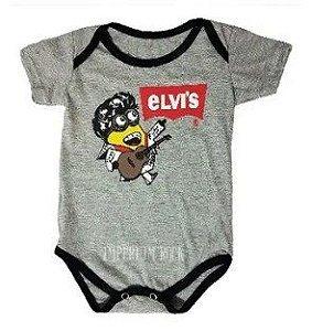 Body Bebê Elvis Minion