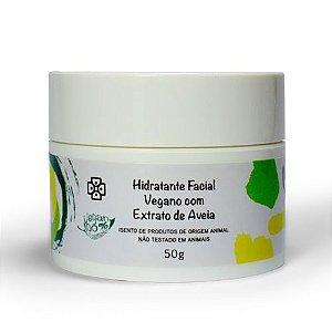 Hidratante Facial Vegano com Extrato de Aveia
