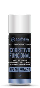 Corretivo Funcional - Disfarce óptico e tratamento para olheiras FPS 40 FPUVA 30