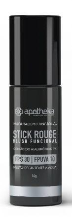 Stick Rouge - Blush Funcional FPS 30 FPUVA 10 com Ácido Hialurônico 5%