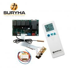 Kit Central Elétrica Placa Universal - 80150.064 - Surhya