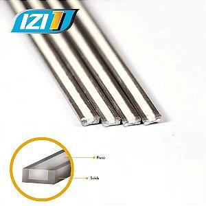 Solda IZI 1 - Alumínio/Cobre com Fluxo 4 peças