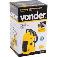 Lavadora de Alta Pressão LAC1200 1300LB 127V VONDER