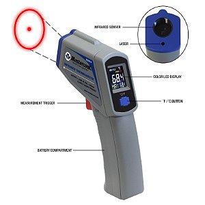 Termômetro Infravermelho 50A 500C LAS 52224-A