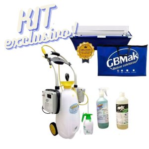 KIT GBMAK POP Clean 130psi + Coletora + Pulverizador + Brinde