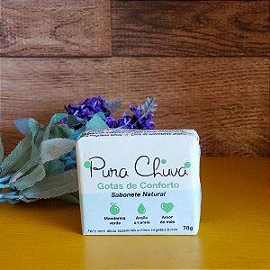 Sabonete Natural Gotas de Conforto 70g - Pura Chuva