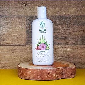 Shampoo de oliva com argan cabelos secos ou ressecados MULTIVEGETAL