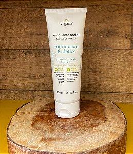 Vegana Esfoliante Facial Hidratação e Detox  100ml- WNF