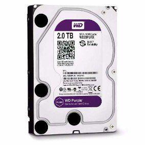 HD WD 2TB Purple SATA 6 Gb/s