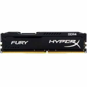 Memória Kingston HyperX FURY 16GB 2400MHZ DDR4 CL15 Preto