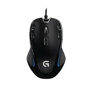 Mouse Gamer Logitech G300s, 9 Botões Programáveis, 2500DPI