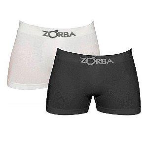 Kit com 2 Cuecas Zorba Boxer - Algodão sem costura - 781