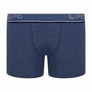 Cueca Boxer Infantil Algodão Azul Jeans 141