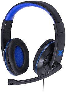 Headset Gamer V Blade Linha - VX Preto e Azul