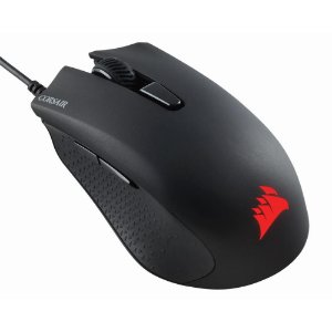 Mouse Gamer Corsair Harpoon RGB PRO 6 Botões 12000DPI Preto - CH-9301111-NA