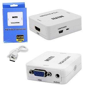 Conversor VGA para HDMI VGA2HDMI Mini