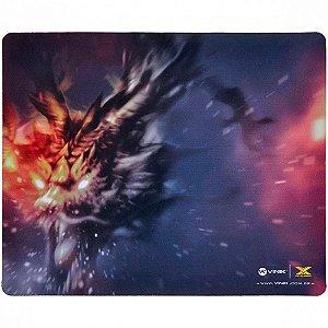 Mouse Pad Gamer Vinik VX Gaming Fire Dragon, Speed, Médio (320x270mm) - 29349