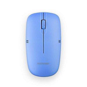 Mouse Sem Fio 2.4GHZ USB Azul - MO288