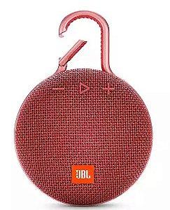 Caixa de som Bluetooth JBL CLIP 3 Red IPX7