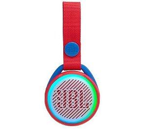 Caixa de som Bluetooth JBL Junior POP, Vermelho