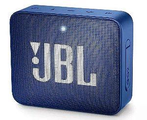 Caixa de Som Bluetooth JBL GO 2 à Prova Dágua 3W Blue