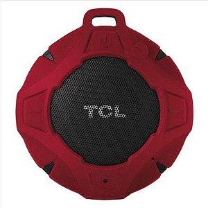 Caixa de som Bluetooth TCL BS05 Red IPX7