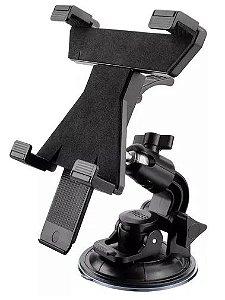 Suporte automotivo Multilaser para Tablet 7 A 10 Pol.  Preto