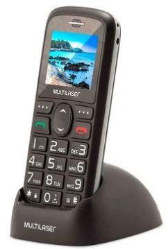 Celular Multilaser Vita 3G, Tela de 1.8´, Câmera, Lanterna, Botão SOS, Bluetooth, Rádio FM - P9091