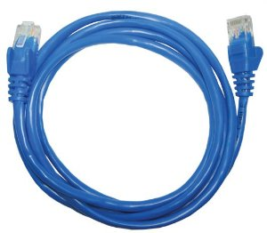 Patch Cord UTP CAT5E 26AWG 1.5m azul