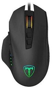 Mouse Gamer T-Dagger Captain, RGB, 7 Botões, 8000DPI - T-TGM302