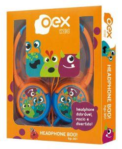 Fone de Ouvido Boo para Criança Headphone Infantil HP301 OEX