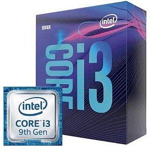 Processador Intel Core i3-9100F Coffee Lake, Cache 6MB,