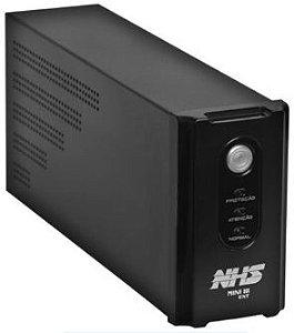 Nobreak NHS Mini III Ext 1000VA/500W E.Bivolt / S.120V ou 220V (jumper interno) / seladas 2 x 5Ah - 90.B0.010000