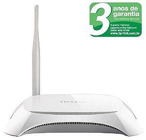 Roteador TP-Link TL-MR3220 Wireless 3G/4G 150Mbps com 1 Antena