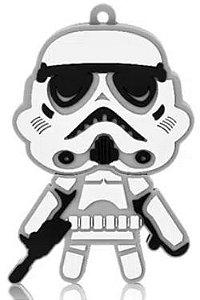 Pen Drive Star Wars Stormtrooper 8GB USB Leitura 10MB/s e Gravação 3MB/s Multilaser - PD039