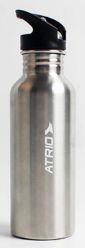 Garrafa alumínio sport atrio 600ml prata - ES314