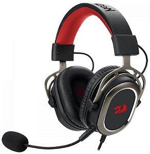 Headset Gamer Redragon Helios H710, Surround 7.1, USB