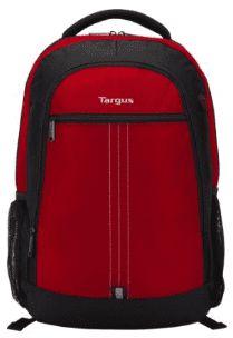Mochila Targus p/ Notebook até 15,6´ Vermelha - City TSB89004