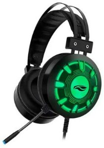 Headset Gamer C3Tech Gaming Kestrel, LED Multicores,